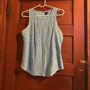 Tops - Baby blue top