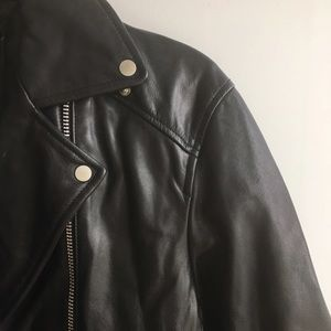 Muubaa Jackets & Blazers - Genuine Leather Moto Jacket