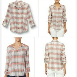 Quiksilver sunny days button up S