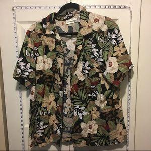 30% Off Bundles Black & Browns Hawaiian Button Up