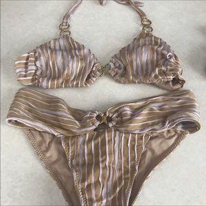 Beach Bunny Other - Beach Bunny Bikini 👙 Lavender & Gold