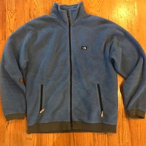 The North Face Tops - Speckled north face fleece zip up. EUC. Size XL