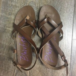 Blowfish Shoes - Blowfish leather sandals.