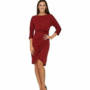 H by Halston Dresses & Skirts - HALSTON Dolman Sleeve Dress w/ Knotted Detail