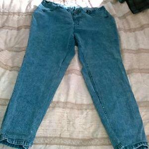 Woman's plus size jeans