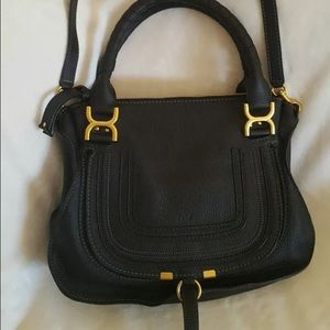 Chloe Handbags - Chloe Marcie black medium satchel bag