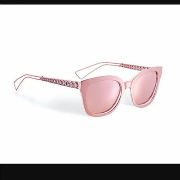 5d8e5cfff0f9 Authentic Dior Diorama 1 Pink Sunglasses with Case