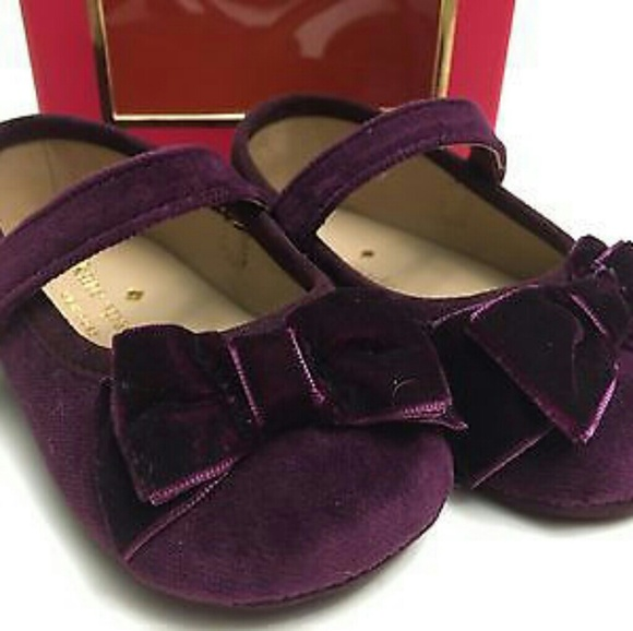 be494cceb971 Nib kate spade baby shoes