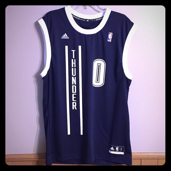 check out 7689e cb54b NWOT Adidas Russell Westbrook Jersey