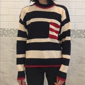 Topshop Sweaters - Vintage Striped Sweater