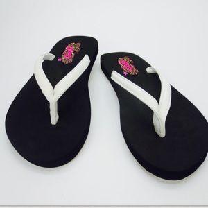 New With Tag Cushion flatform soft sole flip flop