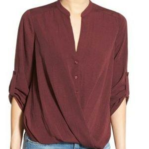 Lush Tops - NWT Lush burgundy top