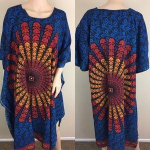 Nf mandala muu muu caftan maxi dress