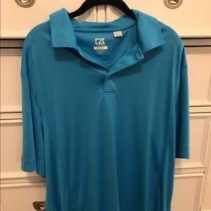 Cutter & Buck Other - Men's polo shirt aqua blue XL