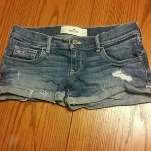 Hollister Pants - Hollister Jean shorts