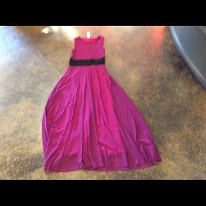 Jean Paul Gaultier Dresses & Skirts - Jean Paul Gaultier orchid long dress M 2-4
