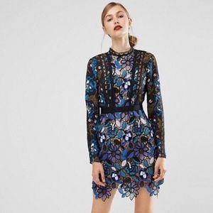 Self Portrait Dresses & Skirts - NWT Self Portrait Floral Lace Mini Dress