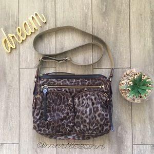 MZ Wallace Handbags - MZ Wallace Crossbody Cheetah Bag Hayley