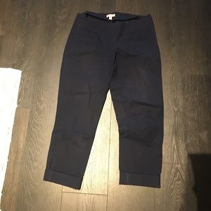 Lilly Pulitzer navy cigarette pant