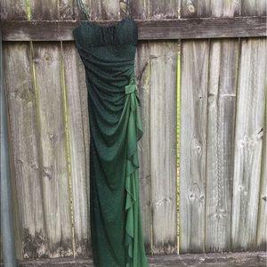 Blondie Nites Dresses & Skirts - Sparkly Green Formal Dress