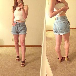 Brandy Melville Pants - Vintage Esprit cuffed shorts