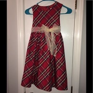 Cute Red Plaid Dress