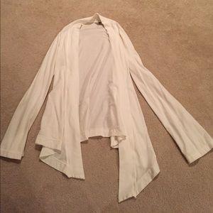 Hard Tail Tops - Hard Tail White Cardigan