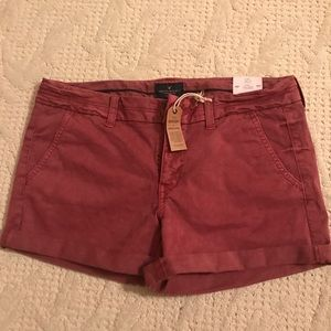 American Eagle Outfitters Pants - Red (faded wash) Midi Shorts