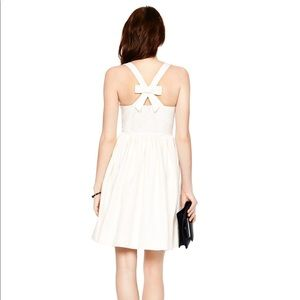 "kate spade Dresses & Skirts - Kate Spade cream ""Tanner"" bow dress 10"