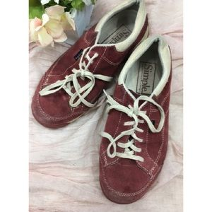 Shoes - SIMPLE Suede ClassicCasual LaceUp Sneakers-2999 A5