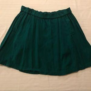 UO green skirt