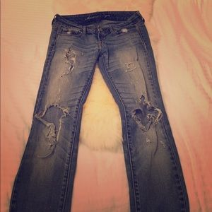 """American Eagle Outfitters Pants - AA skinny stretch """"Live Your Life"""" jeans"""