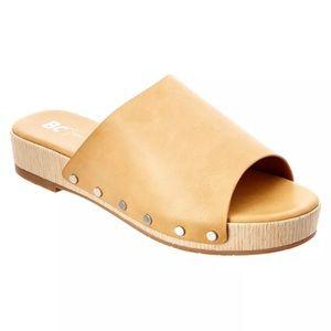 BC Footwear Shoes - 6 VEGAN BC Footwear dash slide sandals NEW size 6