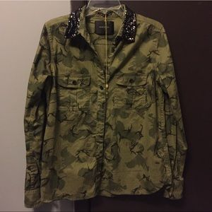 maison scotch Tops - REDUCED!!! ❤️ Camouflage shirt/jacket ❤️