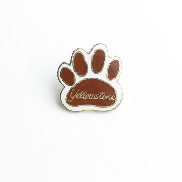 Vintage Yellowstone Enamel Pin