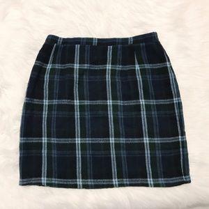 Vintage Dresses & Skirts - 90s Plaid Skirt