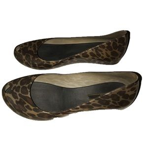 Melissa Shoes - Authentic Melissa print wedge flats si 40 US 9