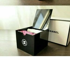 CHANEL Other - Chanel qtip and cotton pad box-Last One
