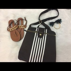 henri bendel Handbags - Henri Bendel Centennial Stripe Backpack