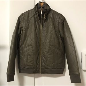 Marc by Marc Jacobs Jackets & Blazers - Marc by Marc Jacobs quilted leather jacket sz 4