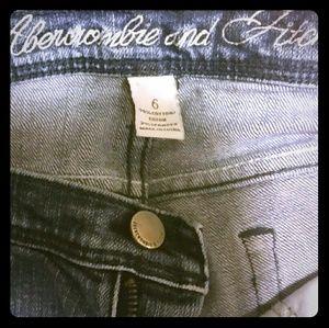 Abercrombie & Fitch Pants - *Abercrombie & Fitch* Denim Shorts