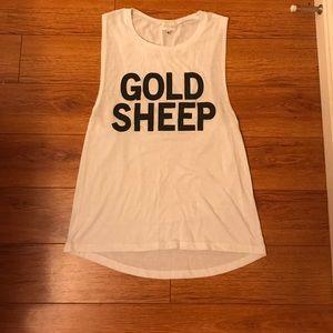 goldsheep Tops - Goldsheep Muscle Tee