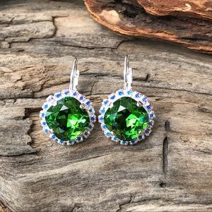 Jewelry - Handcrafted earrings with Swarovski crystal #250