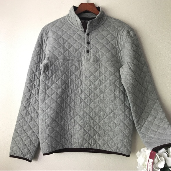 NWT Merona Men's Quilted Pullover - Small S from Liz's closet on ... : quilted sweaters - Adamdwight.com
