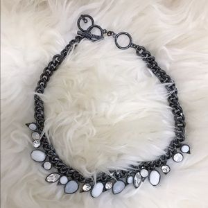 Givenchy Jewelry - Givenchy Gunmetal Statement Necklace