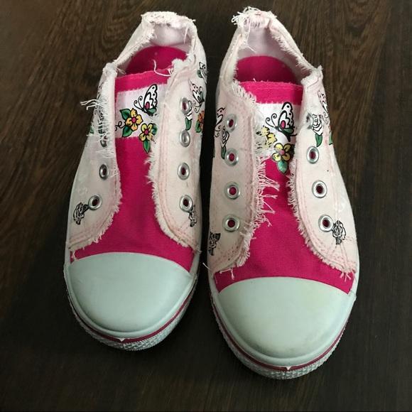 Ed Hardy Slip On Tennis Shoes