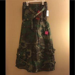 Tripp nyc Dresses & Skirts - Tripp Camoflage Convertible Skirt-XSMALL
