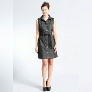 Brooklyn Industries Denim Shirt Dress