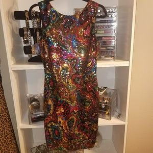 Gorgeous Vintage sequin dress