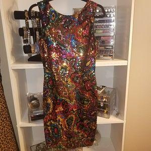 Vintage Dresses & Skirts - Gorgeous Vintage sequin dress